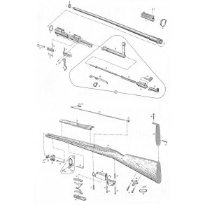 Mauser M/1896 + M/38 (Sverige)