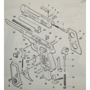 Beretta M/1934 pistol