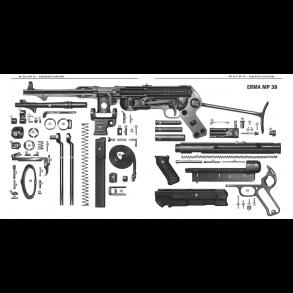 MP 38/40 + MP40 DEKO