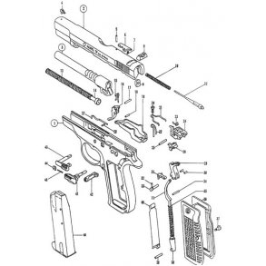 Brünner B-75 kal. 9 mm para