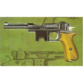 Dansk Pistol 1910 - 1910/21 (Bergmann)