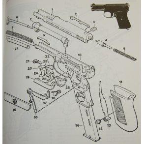 Mauser M/1914 pistol kal. 7,65 mm