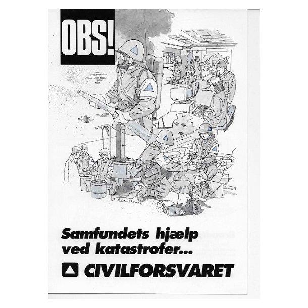 Civilforsvaret - Ældre brochure