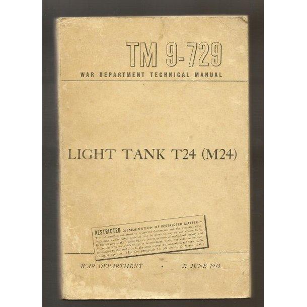 LIGHT TANK T24 (M24)