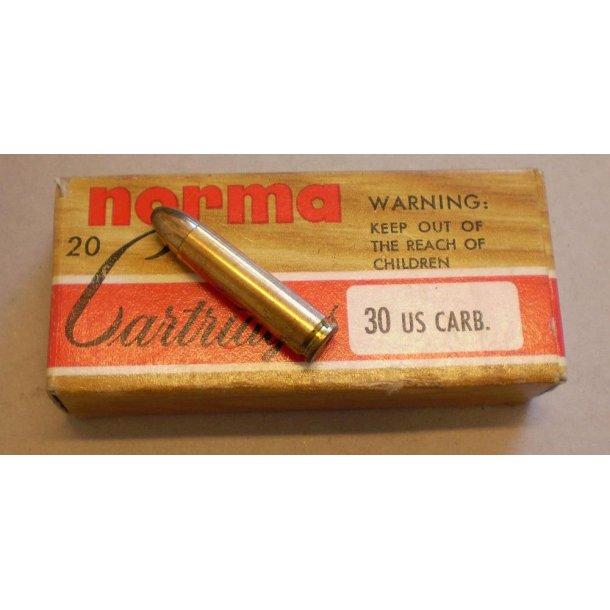 .30 US Carbine (blødnæset)