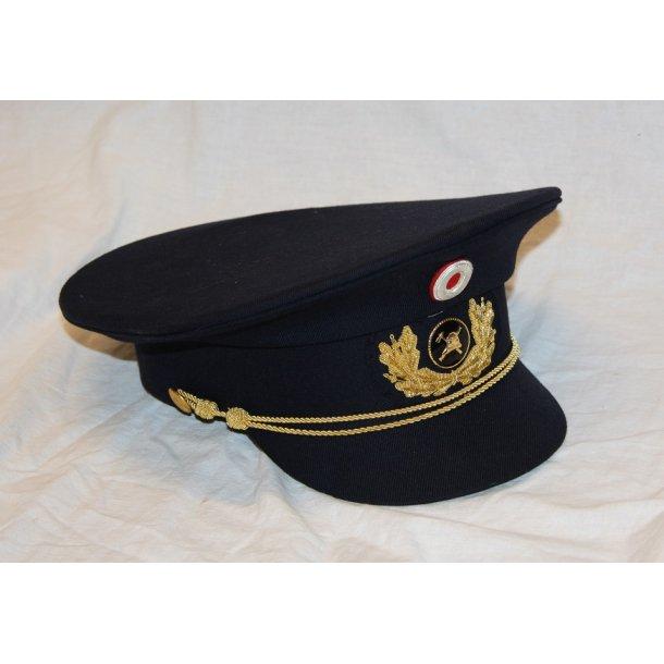 Brandvæsen: Kasket for brandinspektør