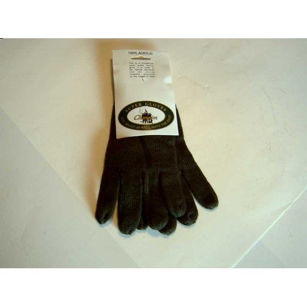 Fingerhandsker - fabriksnye - one size.